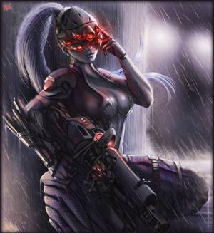 widowmaker Overwatch fini
