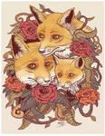 Tatoo fox