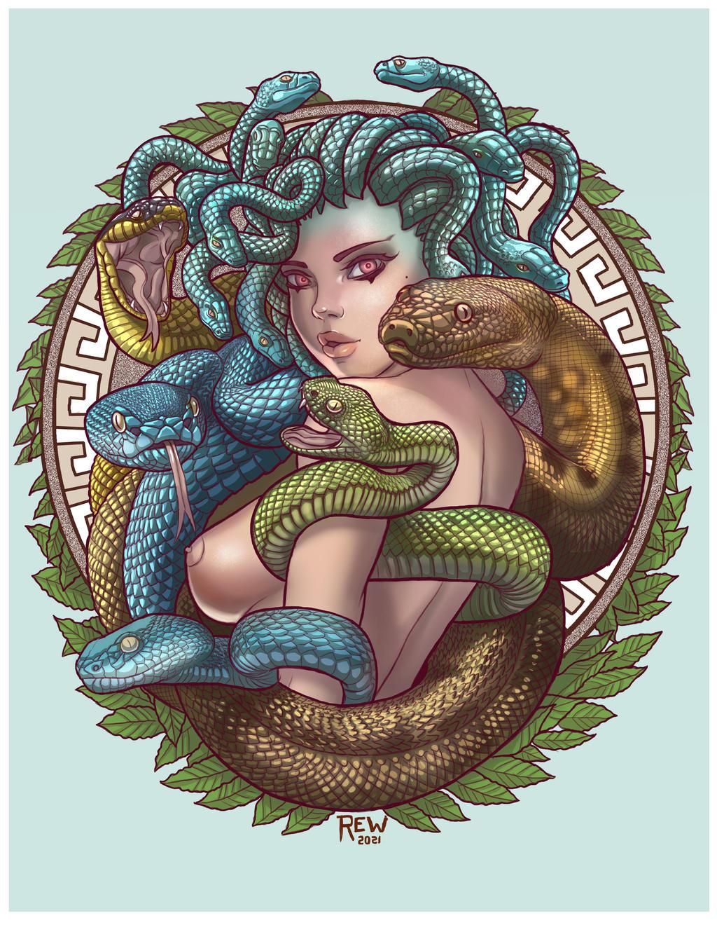 Tatoo Medusa