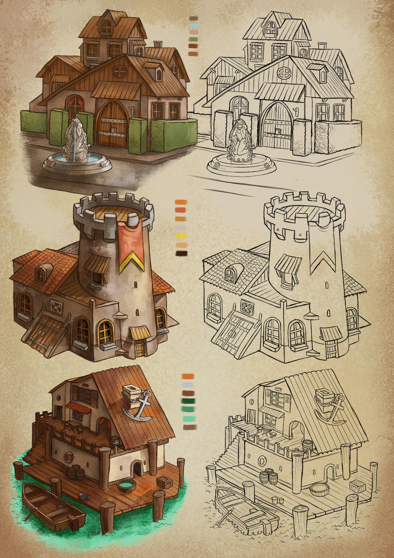 House sketch 2