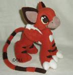 Tiger Gryphon Kitten Plush