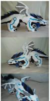 Meka - Giant Dragon Plush by dot-DOLL