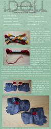 .DOLL's Hand Embroidery Tutorial by dot-DOLL