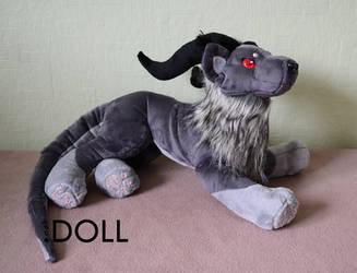 Vruuaska demon plush by dot-DOLL