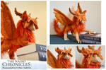 The Naiad Chronicles - Phoenix plush