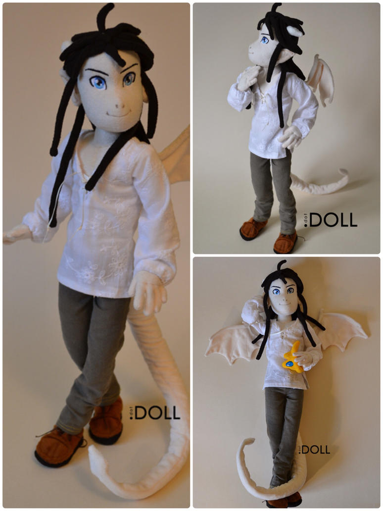 TNC - Kuroi custom doll by dot-DOLL