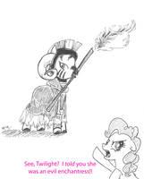 Tim the Evil Enchantress by CatScratchPaper