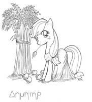 Demeter Applejack by CatScratchPaper