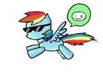 Scribblenauts Rainbow Dash