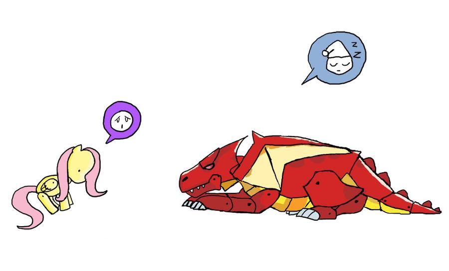 Drawing Scribblenauts : Scribblenauts dragonshy by catscratchpaper on deviantart