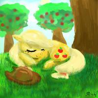 Applenap by CatScratchPaper