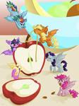 One Bat Apple