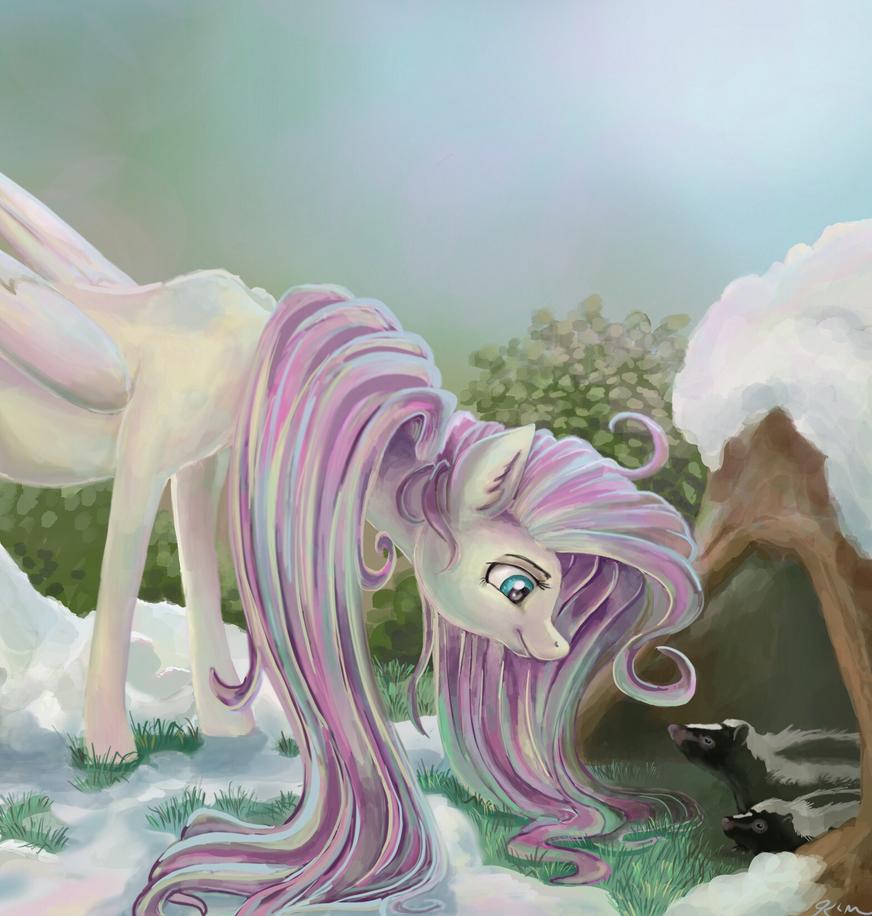 Springshy by CatScratchPaper