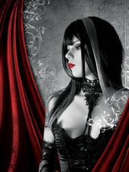 Vampire Paranormal Design by CoversByRobin