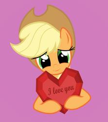 Applejack loves you by GAlekz