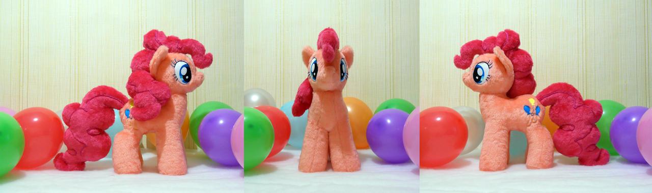 Pinkie Pie Plushie by GAlekz