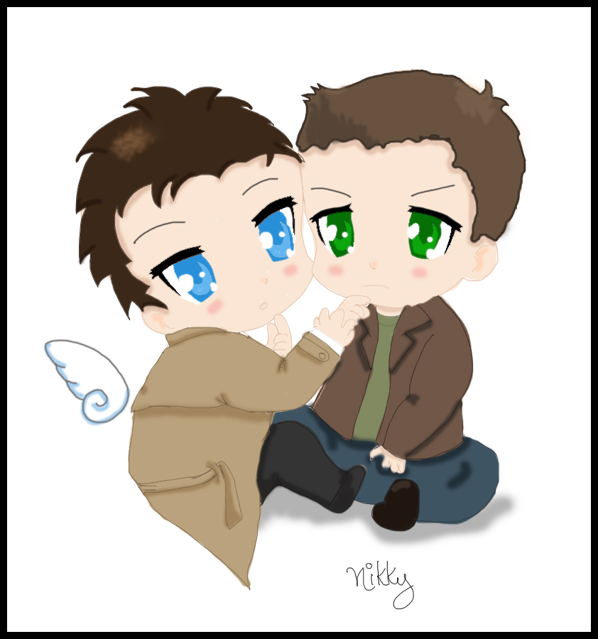 Baby!Cas Baby!Dean by Nikky81