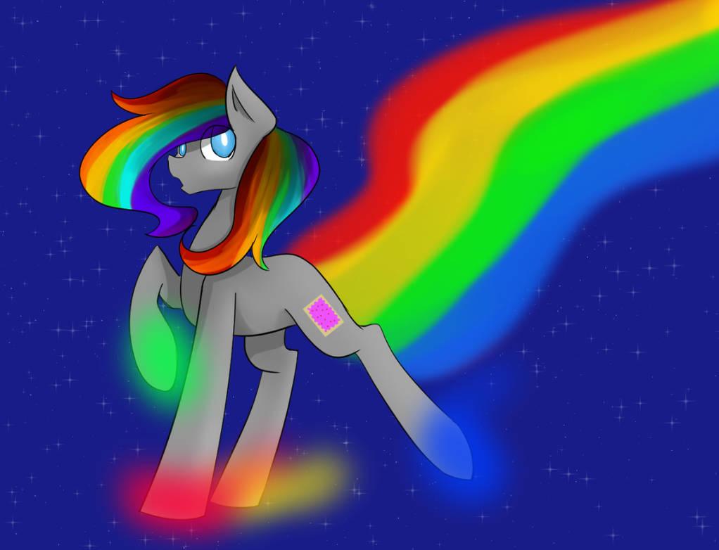 Nyan cat pony by manikalu on DeviantArt
