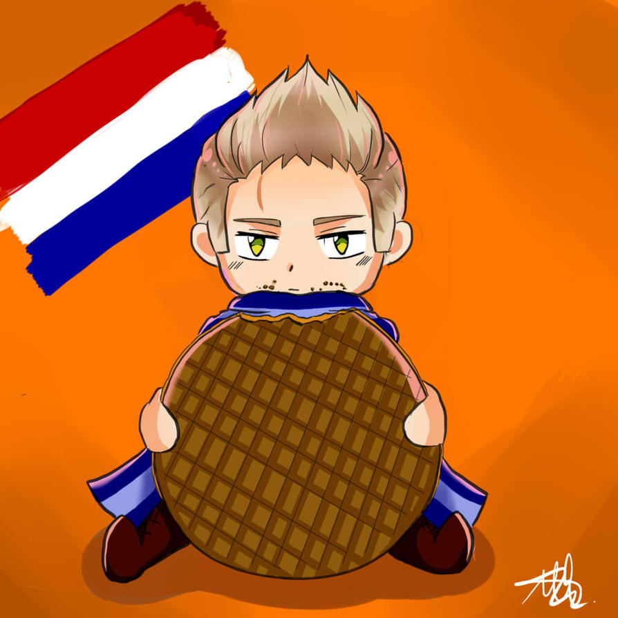 Stroopwafel by xxinfinite-firexx