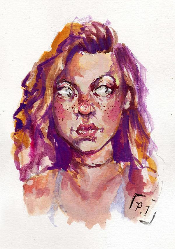 Self Portrait 1 by paisah
