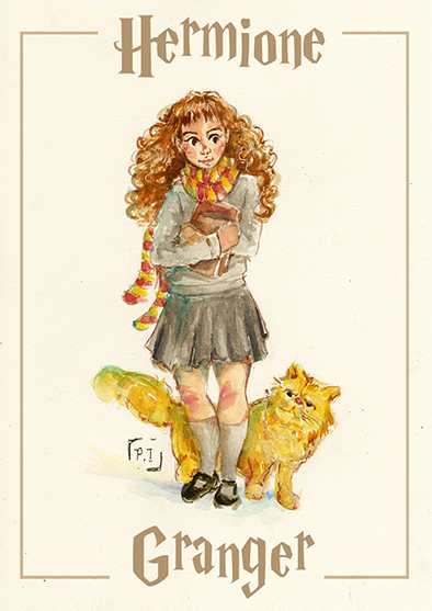 Hermione Granger by paisah