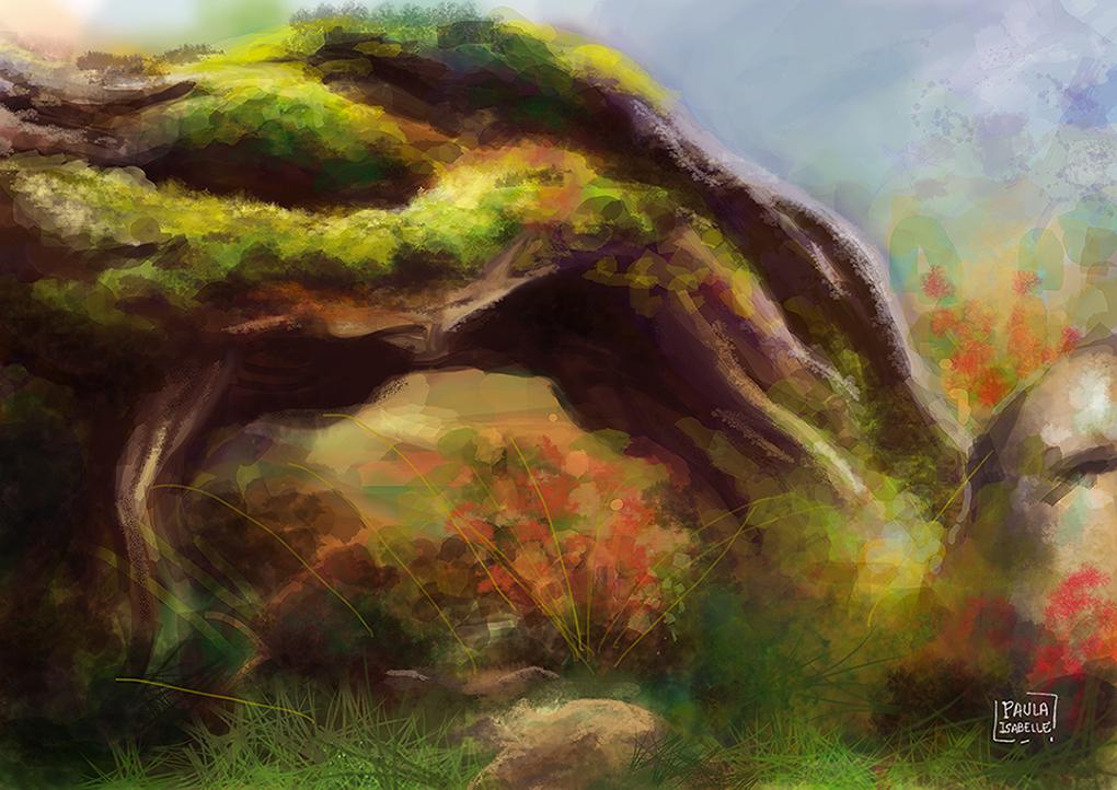 Landscape study 1 by paisah