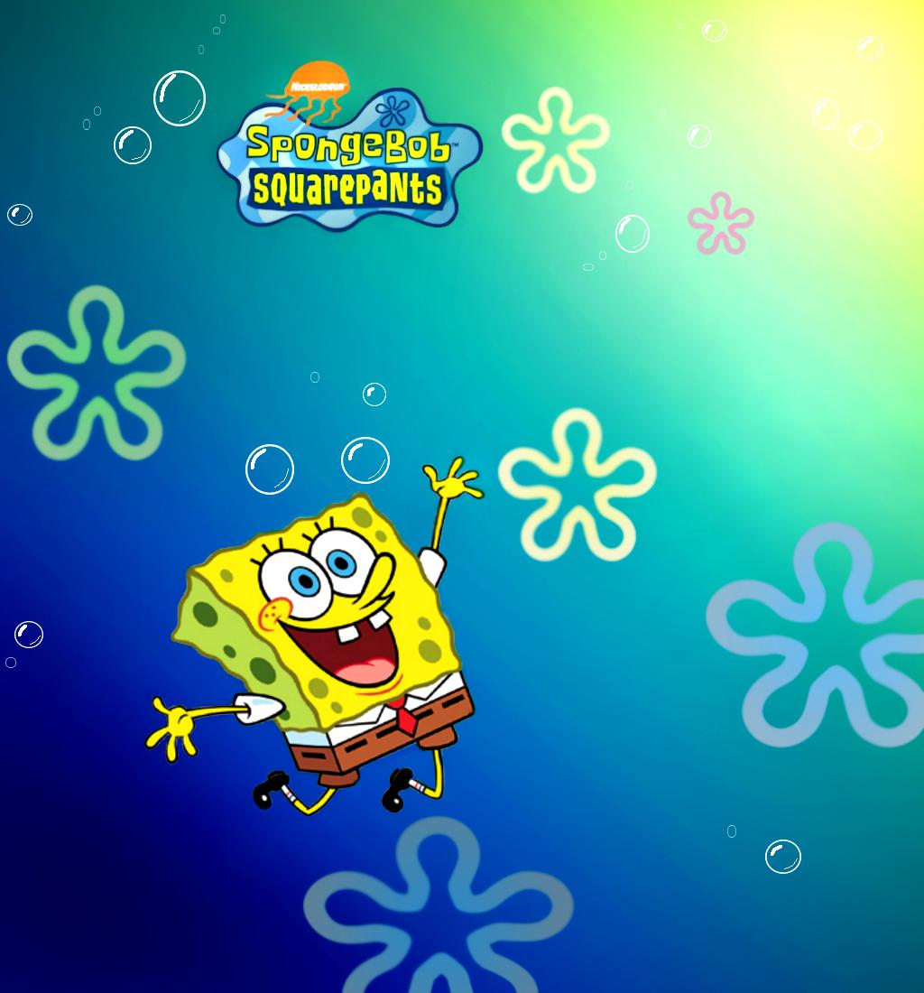 Spongebob Flower Clouds