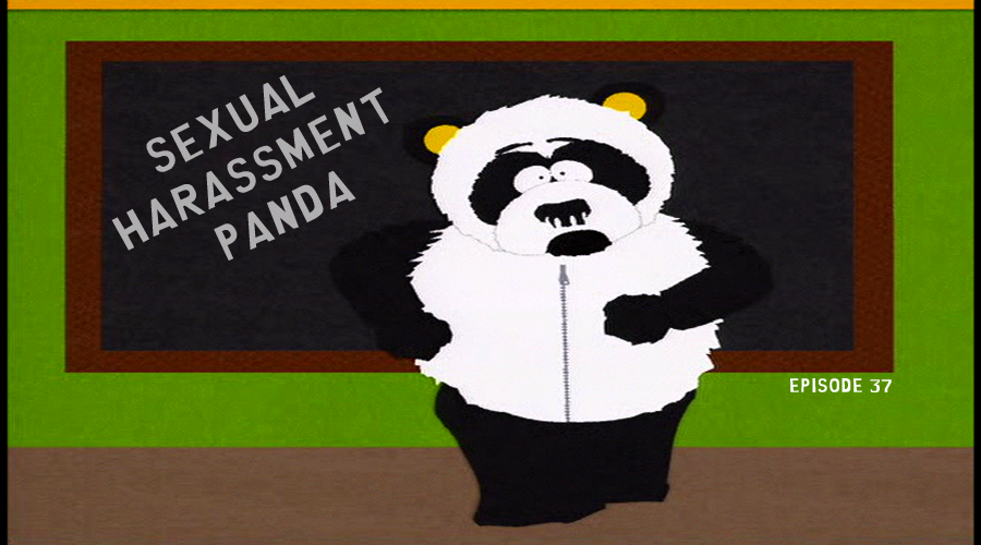 Soutpark sexual harassment panda