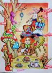Tea party by destruidorademundos