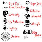 Spell Symbols (Ask-the-Deadman)