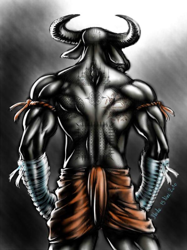 Yantra Buffalo by Blade-Fury