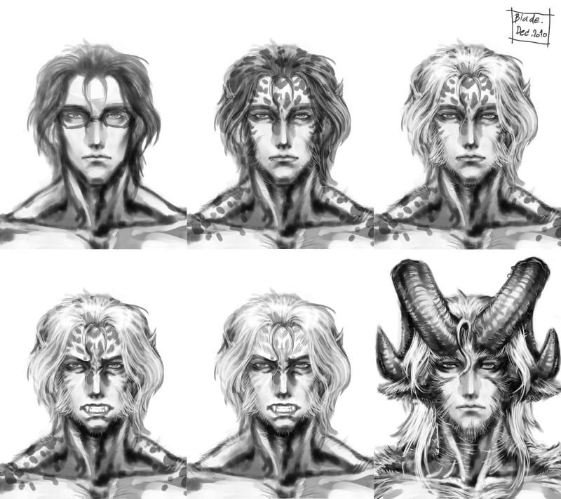 Karl Sketch x6 by Blade-Fury