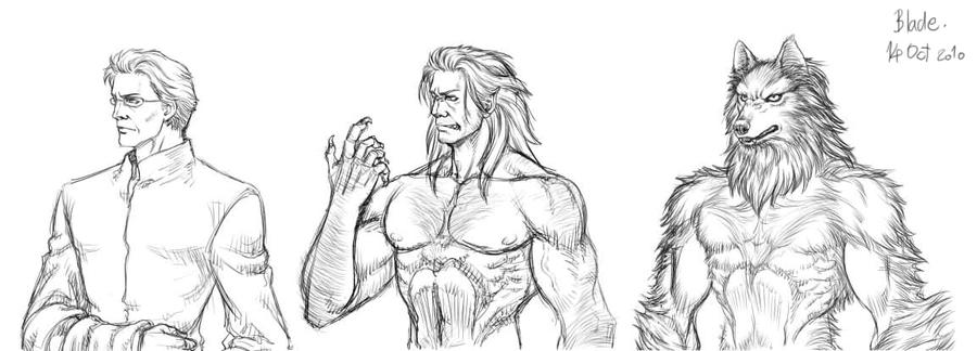Werewolf Doctor by Blade-Fury
