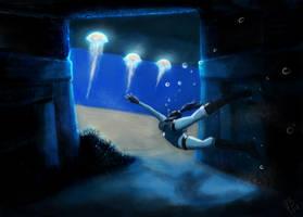 TR bajo el agua