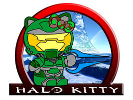 Halo Kitty by CapAmerica