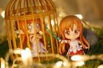 ... here come Asuna to rescue Asuna!
