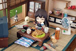 Akagi-san Lunch Time