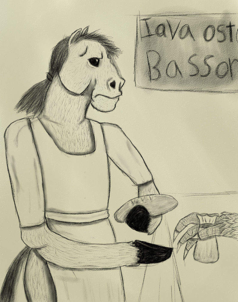 Marian's  Horse Bakery by Pandasrcute2