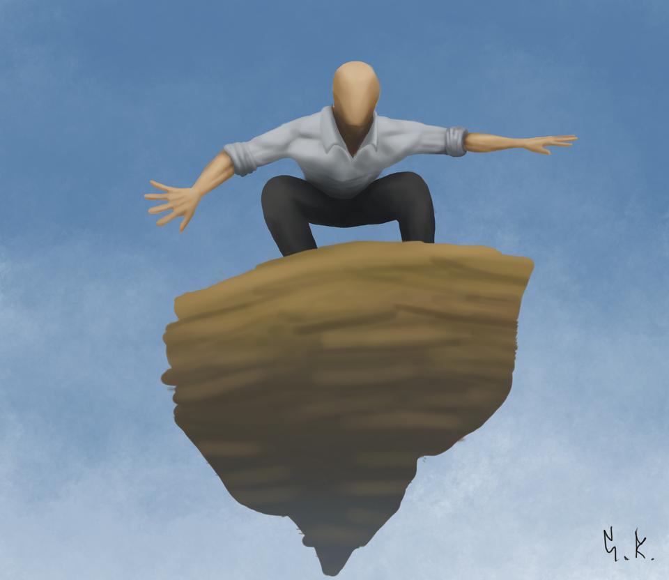 Rock Surfing by Gab-Rod
