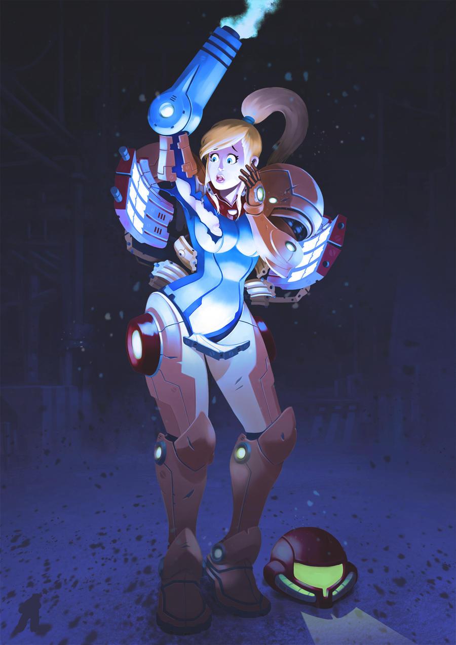 Fan Art Samus (Metroid) by Arctopicto