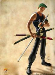 Zoro - Swordman by cloud-dark1470