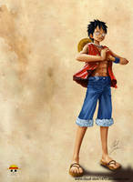 Luffy - Captain by cloud-dark1470