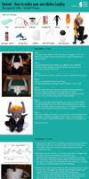 Full Cosplay Tutorial - Midna 'Twilight Princess' by cloud-dark1470