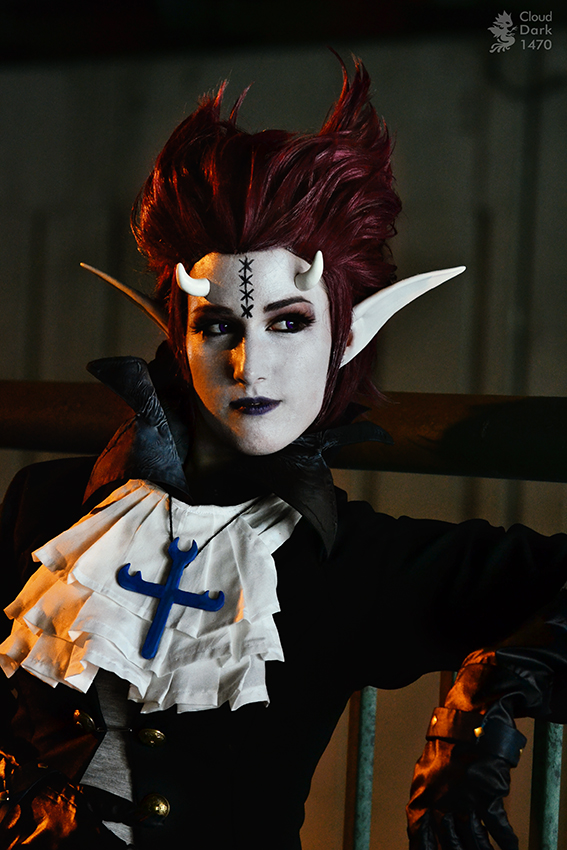 Genderbend Gecko Moria Cosplay by cloud-dark1470