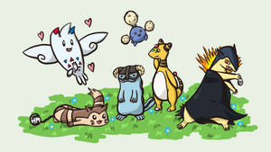 My Pokemon Heartgold Team