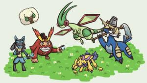 My Pokemon Black 2 Team