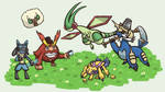My Pokemon Black 2 Team