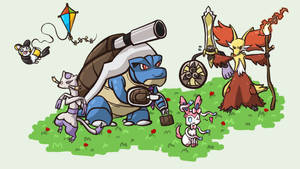 My Pokemon X Team