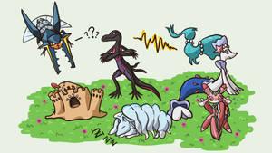 My Pokemon Sun Team