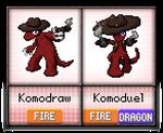 #010 - #011 Komodraw / Komoduel